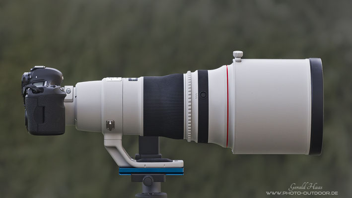 Das Canon EF 400mm f/2,8 L IS USM II.