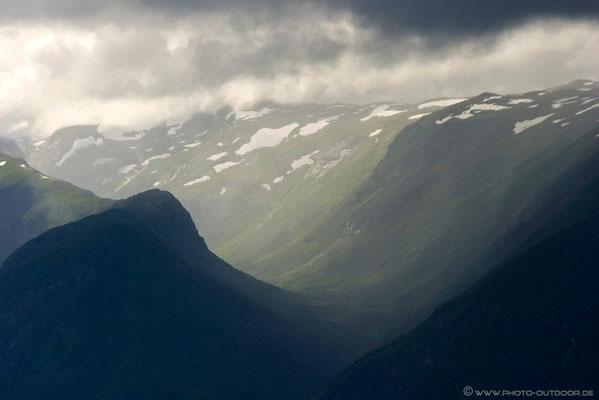Schlechtwetterstimmung in Norwegen