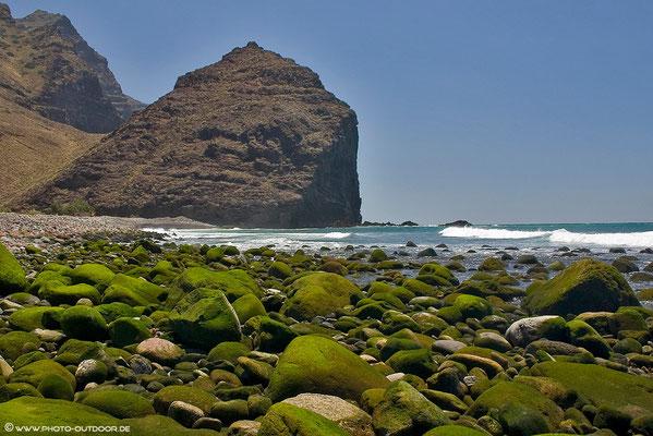 Küstenabschnitt im Nordwesten von Gran Canaria