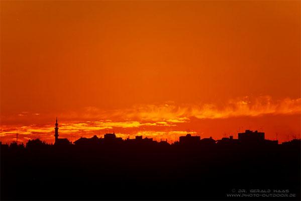 Abendstimmung in  Amman