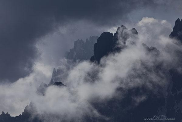 So liebe ich die Dolomiten: Unzählige Gipfel, Grate und Türmchen!
