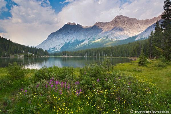 Der Elbow Lake im Kananaskis Provincial Park.