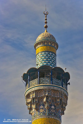 Hier ruft der Muezzin