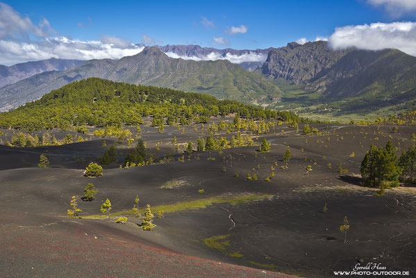 Faszinierende Landschaft auf La Palma!