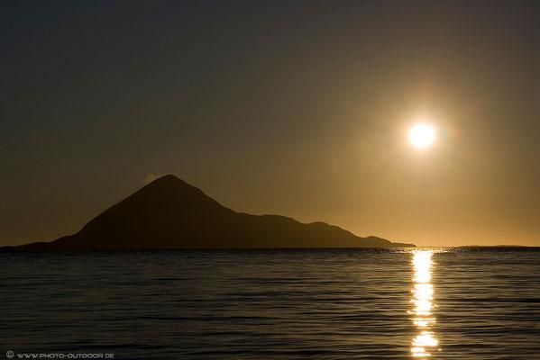 Sonnenuntergang auf Amoya