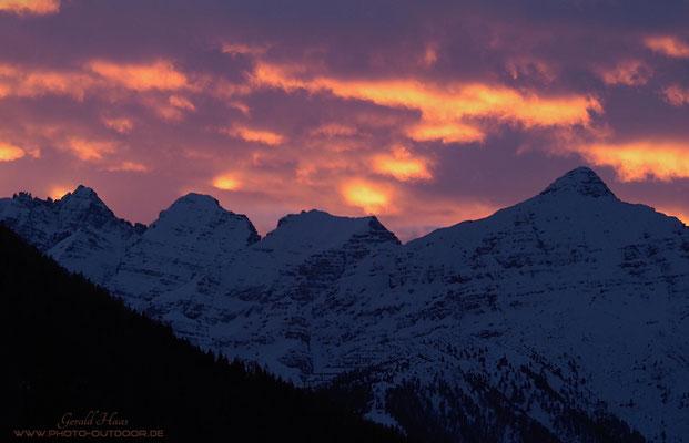 Nach Sonnenuntergang entstehen oft die besten Lichtstimmungen.