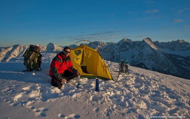 Wintertour im Karwendel