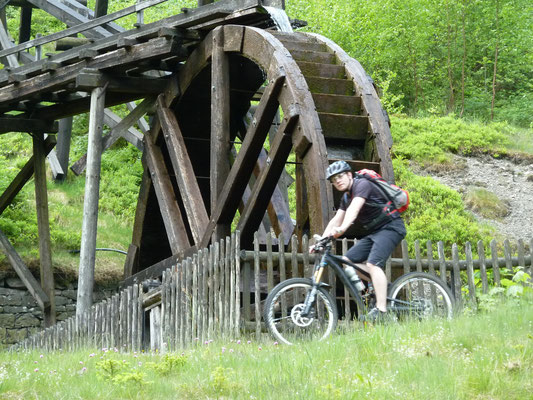 Wasserrad am Maaßener Gaipel