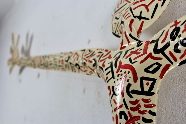 santiflores, sculpture, sculptor, serie hugs, contemporaryart