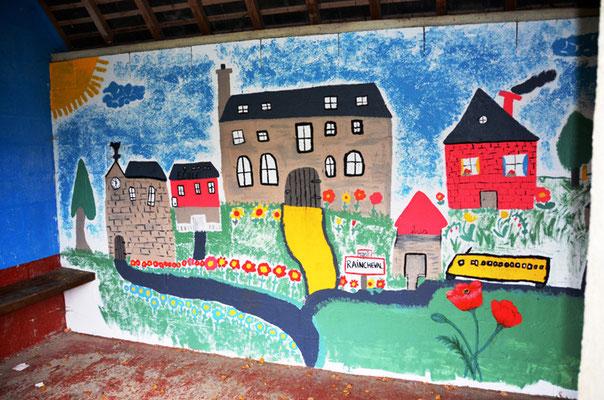 Raincheval: la fresque
