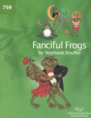 Fanciful Frogs by Stephanie Stouffer #759