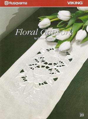 Husqvarna Floral Cutwork by Janice Stewart