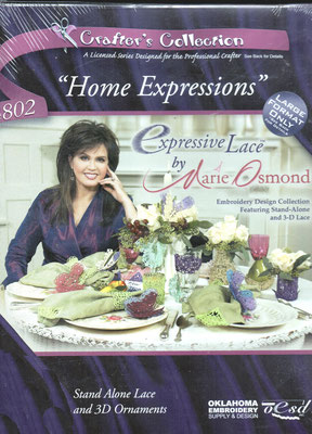 Home Expressions by Marie Osmond Collection #802