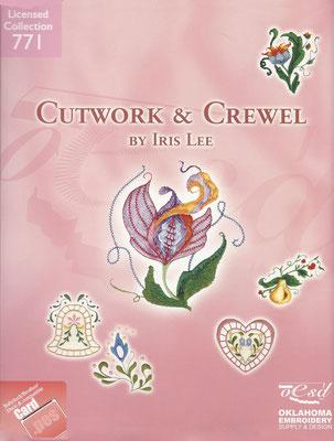 Cutwork & Crewel by Ires Lee #771