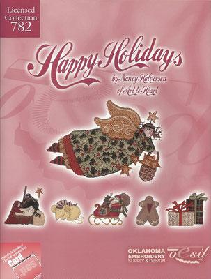 Happy Holidays by Nancy Haloorsen #782
