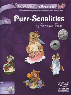 Purr-Sonalities by Bronwen Poss #796