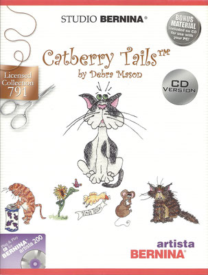Catberry Tails by Debra Mason #791
