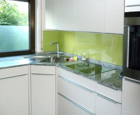 Küchenverglasung