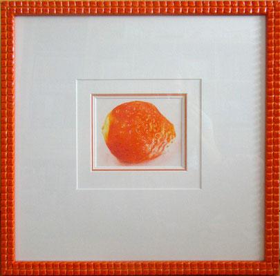 """""""Erdbeere"""" - 15 x 15 cm - Buntstift auf Papier - 2009"""