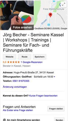 Referenz Jörg Becher Seminare Kassel