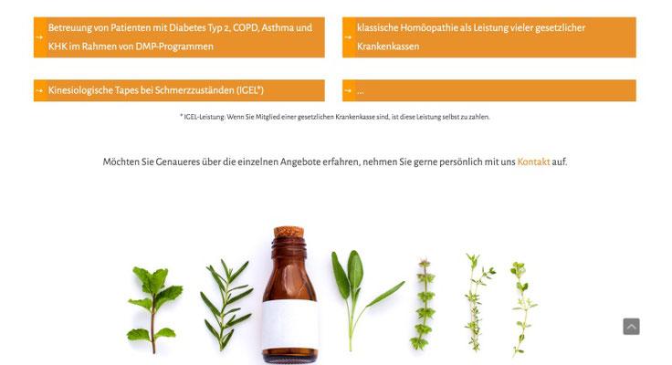 Website Hausarztpraxis Kassel