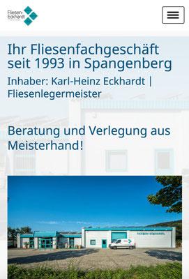 Referenz Fliesen-Eckhardt Spangenberg Ansicht mobil