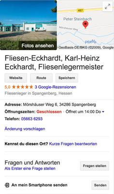 Referenz Fliesen-Eckhardt Spangenberg