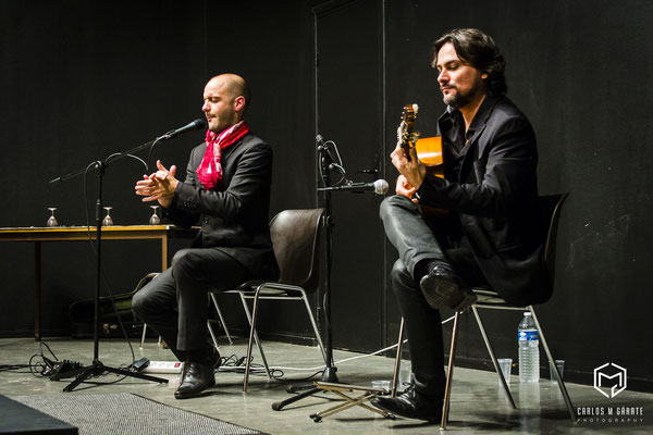 Musiciens flamenco