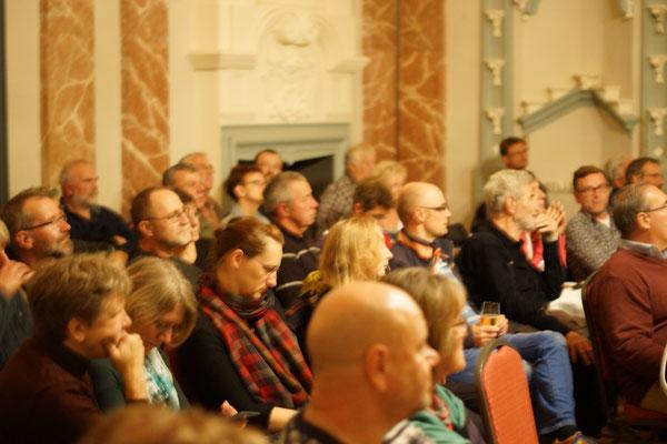Rund 60 Gäste lockte der Film über die Landschaft und das Leben der Menschen in der Uckermark ins Schloss
