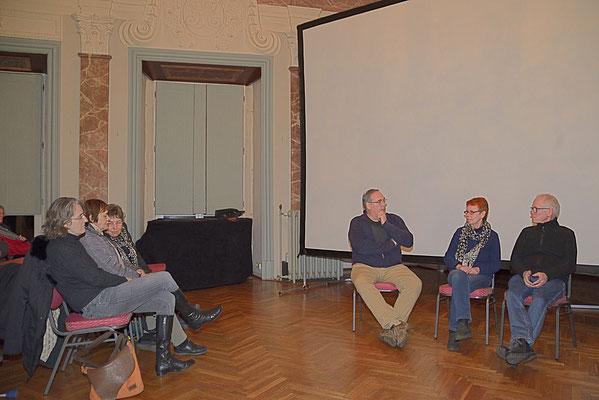 Diskussion mit den Regisseuren