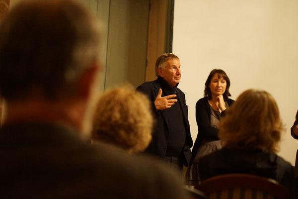 Der Regisseur VOLKER KOEPP beantwortete Fragen des Publikums zur Entstehung des Films und zu den Dreharbeiten