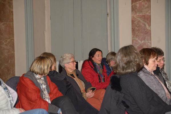 Interessierte Fragen aus dem Publikum
