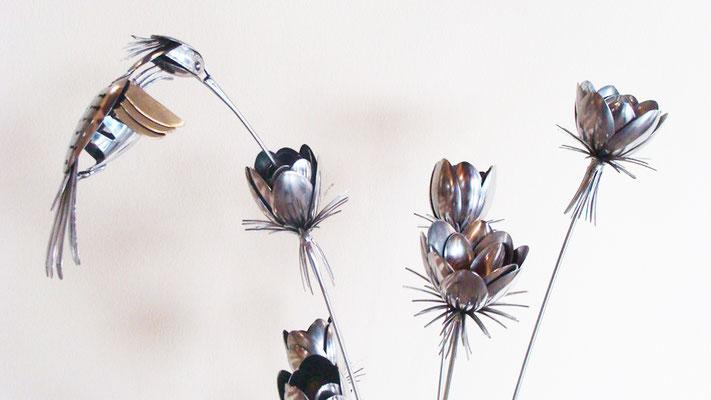 Il colibrì (particolare)