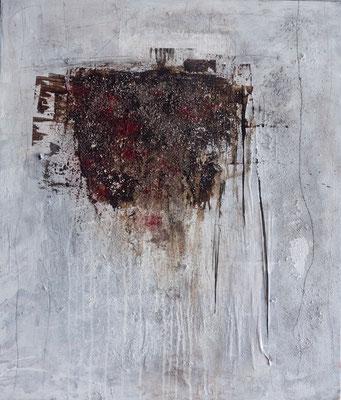 o.T., 60x70, Acrylmischtechnik auf Leinwand
