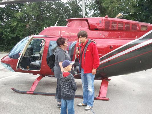 Charterflug für Antenne 1 - Ostermann macht Kinderträume wahr
