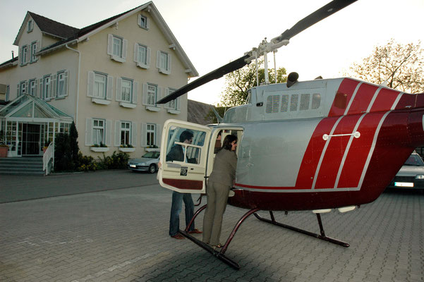 Heli Charter - Rosenau Tübingen