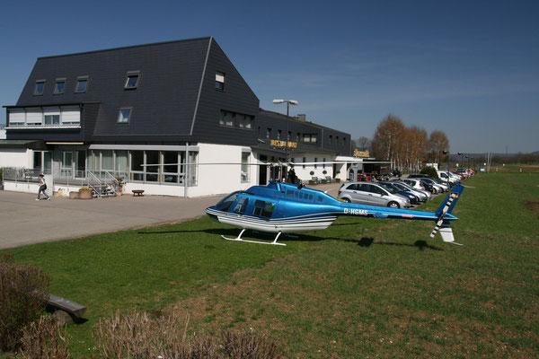 Hubschrauber Charter Stauseehotel Glems