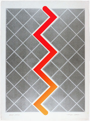 RELATIVITY-4 1971   Lithograph 76x56cm ED.30