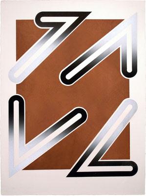 NO FOCUS B-7 1971  Lithograph 76x56cm ED.30