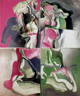 人体 Nude-8 1967 Oil on canvas 194x162cm 学部卒業制作