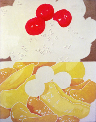 fruit punch 1966 Oil on canvas 116x91cm