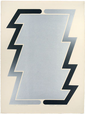 RELATIVITY2-A 1971   Metal block 76x56cm ED.50