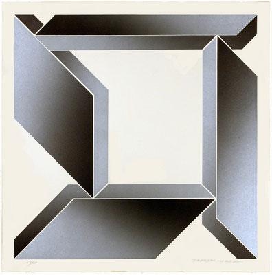 NO FOCUS B-1 1970  Lithograph 56x56cm ED.30