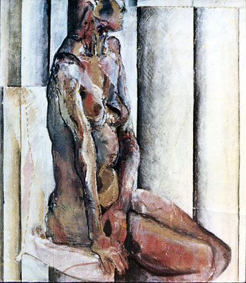 人体 Nude-3 1965 Oil on canvas 91x72cm