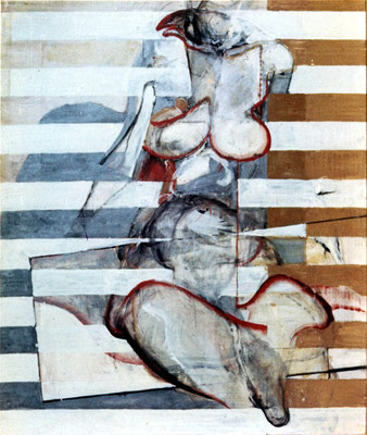 人体 Nude-4 1965 Oil on canvas 100x80cm
