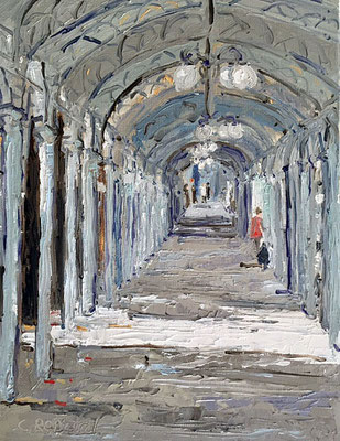 Les arcades. Vichy
