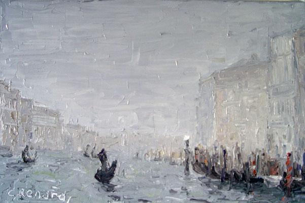 Brume sur Venise
