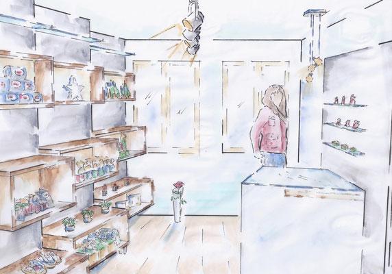 Aménagement boutique