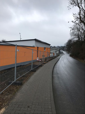 11.02.2019 - Es fehlen nur noch die Außenanlagen und Zuwege.