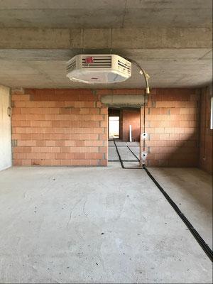 28.08.2018 - Der Innenausbau schreitet voran in der Tafel.